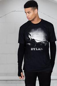 Official-Bob-Dylan-Guitar-Logo-Unisex-T-Shirt-Triplicate-Fallen-Angels-Tempest