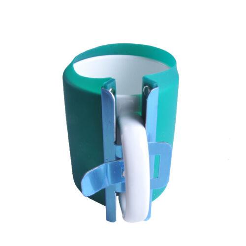 5pcs 3D Sublimation Silicone Mug Wrap 11OZ Cup Clamp Fixture US Stock