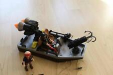 Playmobil 4845 Schatzjäger Boot Fluss Piraten mit Kanone Dschungel Harpune Abenteuer