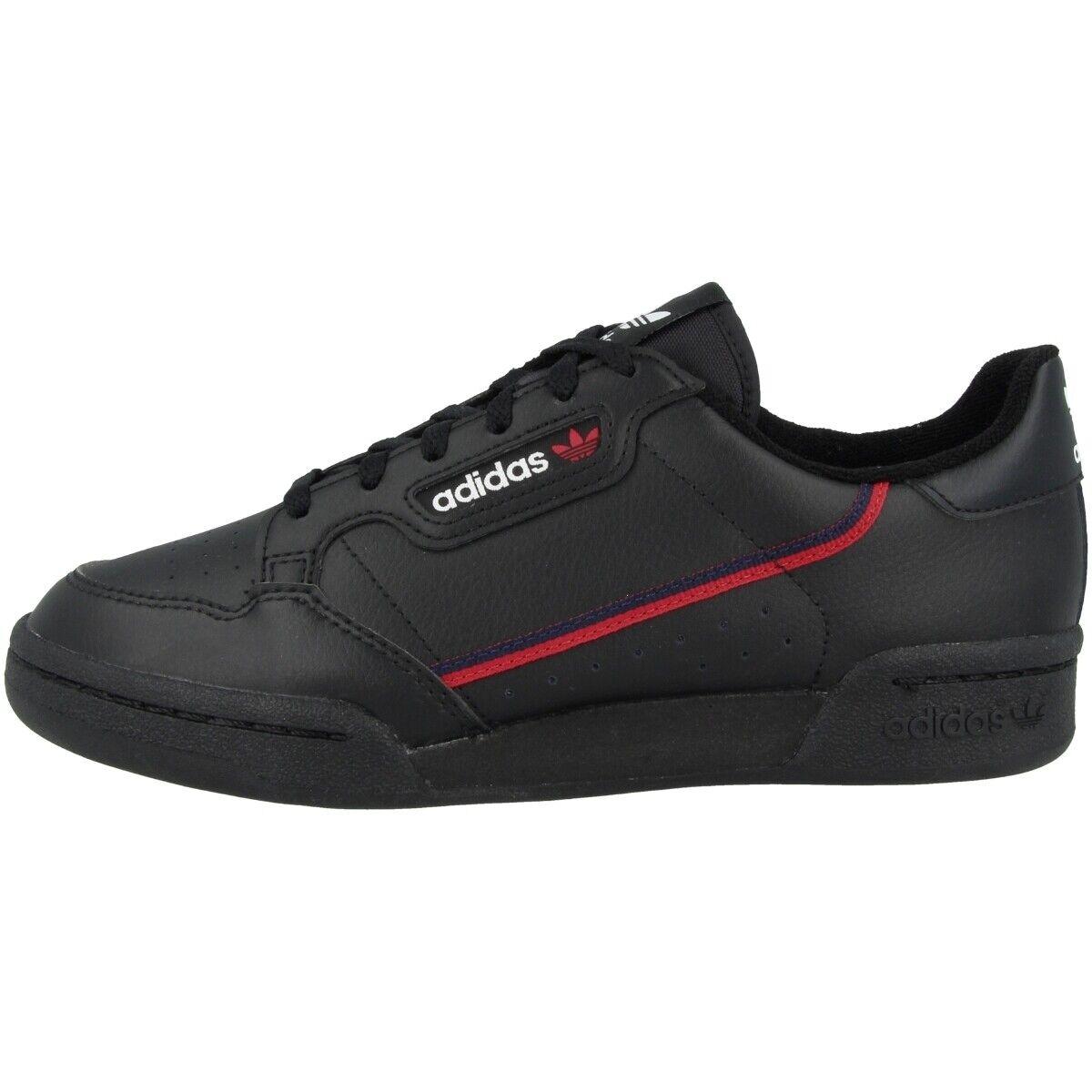 Adidas Continental 80 J Schuhe Originals Turnschuhe Freizeit Turnschuh schwarz F99786