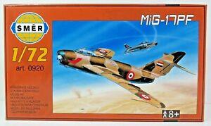 SMER-MIG-17-PF-Kampfflugzeug-UDSSR-Bausatz-1-72-0920