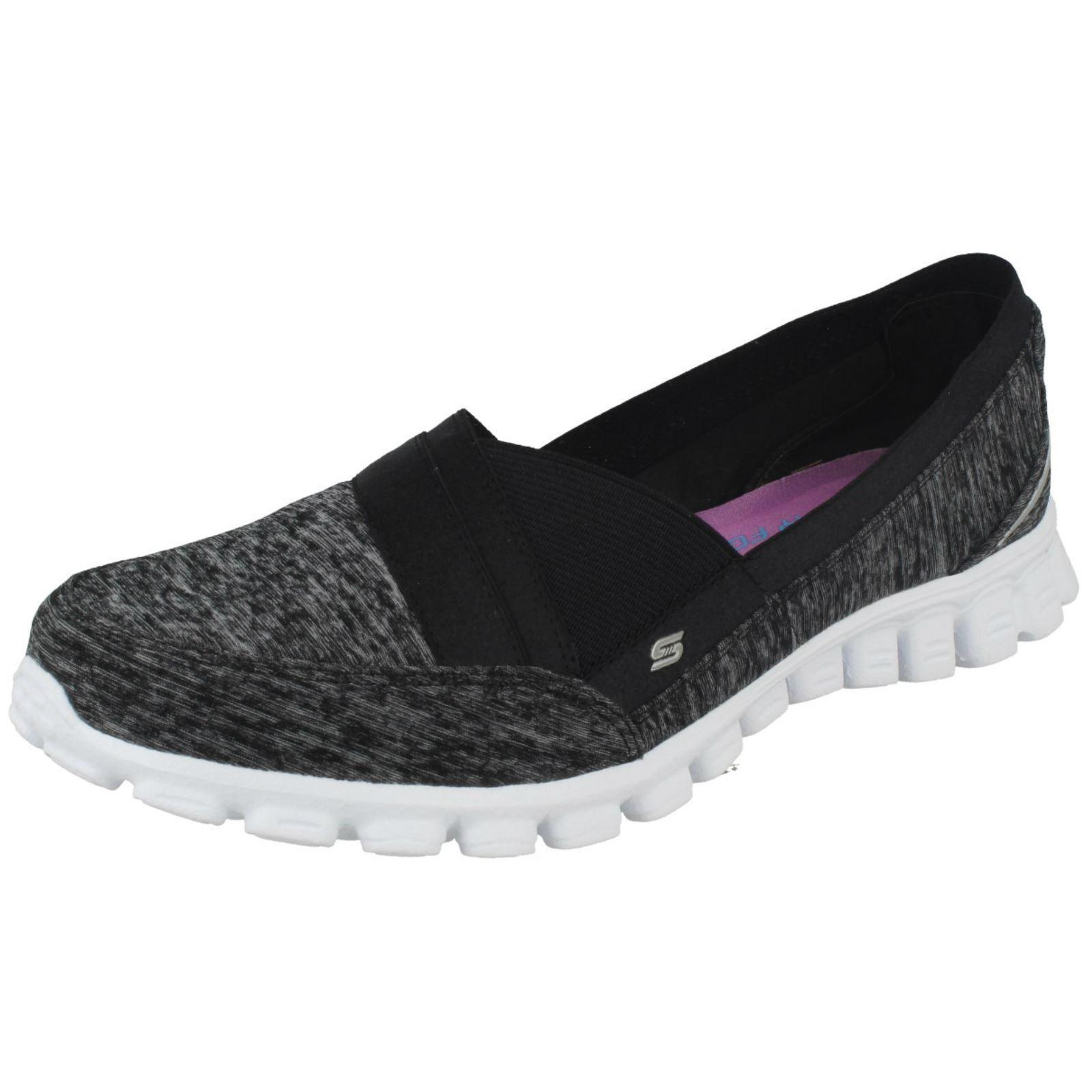 LADIES SKECHERS CASUAL LIGHTWEIGHT TRAINERS EZ Schuhe FLEX 2 FASCINATION 22827 Schuhe EZ 31de44