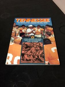 1987-University-Of-Tennessee-Football-Guide