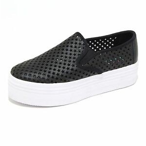 sneakers zeppe donna nere jeffrey campbell