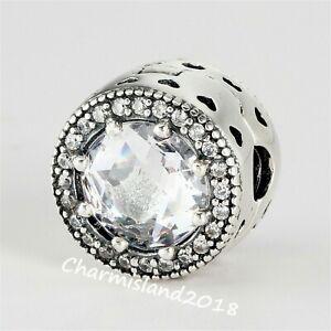 Authentic-Pandora-Charm-796239-Silver-925-ALE-Radiant-Hearts-Clip
