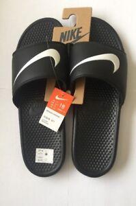 De Deslizar Para Swoosh Nike Negro Ver Detalles Original Hombre Eu Benassi Chanclas 52 5 Uk17 Blanco Sandalias Título Ifgyvb7Y6m