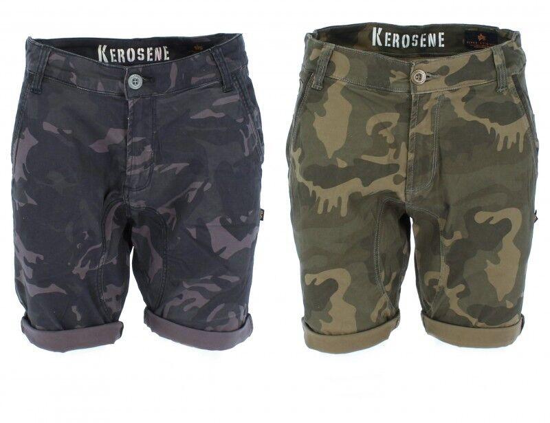 Alpha Industries Men's Kepinkne Shorts Camo