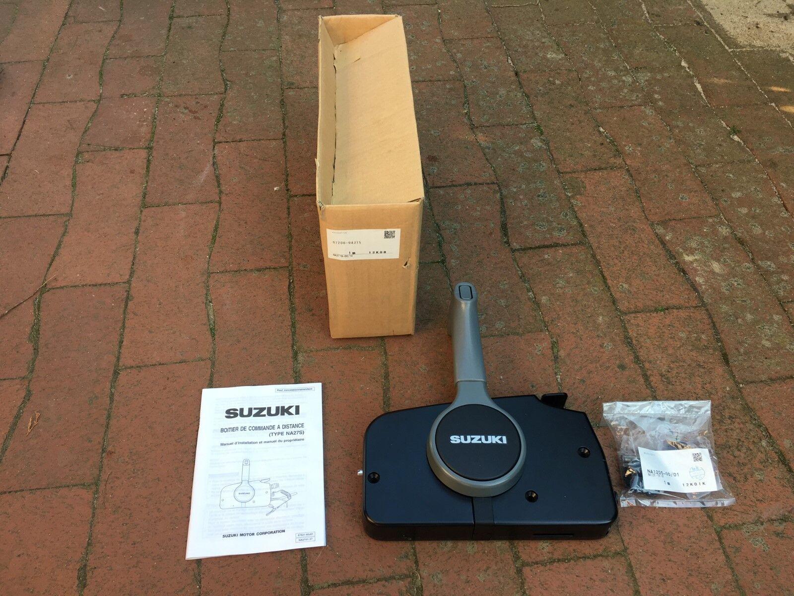 SUZUKI Control, Fernschaltbox, Einhebel - Fernbedienung, Throttle/Shift Control, SUZUKI Remote 84206b