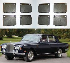 (x8) ROLLS ROYCE Silver Shadow    FRONT BRAKE PADS SET  (** 1965- Jan 1973**)