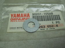 Yamaha NOS SRX440, VMX540, CF300, EX570, Plate Washer, # 90201-105A8-00   S-129