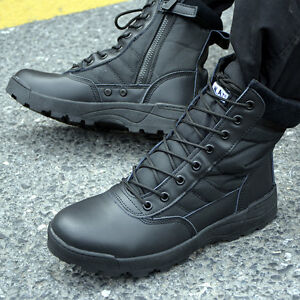 Men's Military Tactical Combat Hiking Ankle Boots Outdoor Comfort Desert Shoes