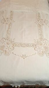 Vtg-Battenburg-Lace-Tablecloth-White-68-034-x116-034