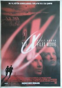 The X Files 1998 David Duchovny Sci Fi Vintage Movie Poster Ebay