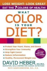 What Color Is Your Diet? by Heber MD  PhD., David , Paperback