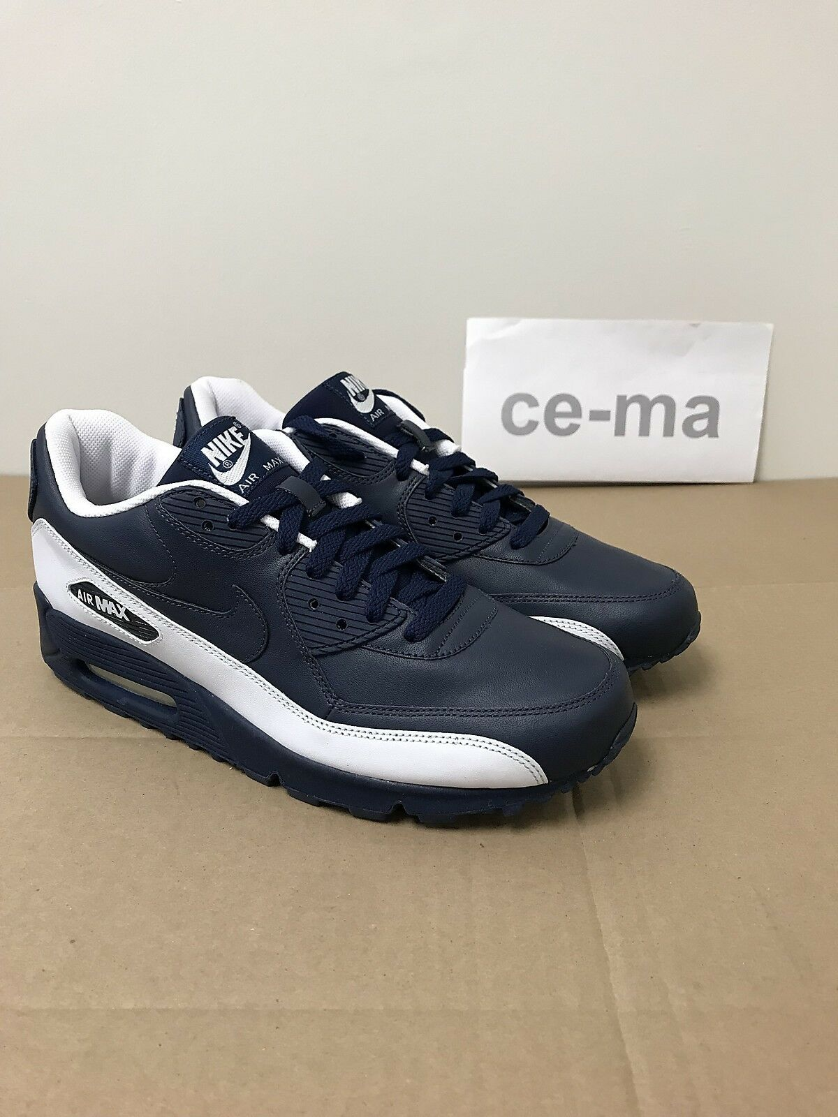 Nike Air Max 90 Midnight Navy Made in Korea 302519-441 Rare Limited Sample US 9