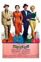Guys And Dolls Movie Poster 24x36