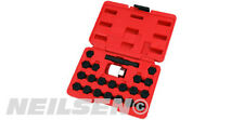 NEILSEN AUDI LOCKING WHEEL BOLT NUT REMOVAL SET MASTER KEY KIT VW VAG