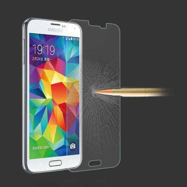 Ultra Slim Premium HD Tempered Glass Screen Protector Film For Samsung Galaxy S5