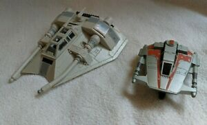 Bien éDuqué Star Wars Action Fleet Rebel Snow Speeder With Original Alpha Véhicule-afficher Le Titre D'origine