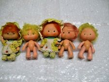 Vintage ~ STRAWBERRY SHORTCAKE ~ 1979 Lot of 5 Dolls, OLD