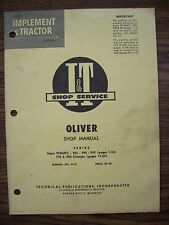 Oliver 950 990 995 Super 99gmtc Service Manual