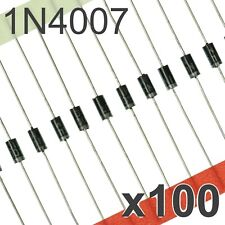 50x 1N4007-DC Diode rectifying 1kV 1A DO41 1N4007 DC COMPONENTS