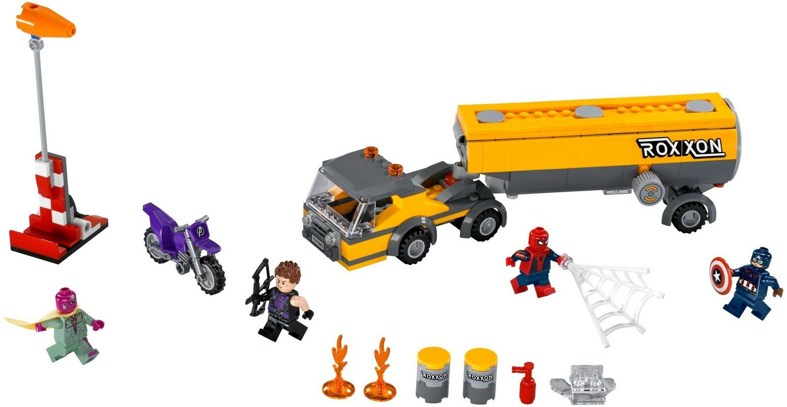 LEGO® Marvel Super Super Super Heroes 76067 Tanklaster-Überfall NEU OVP NEW MISB NRFB 07b5cb
