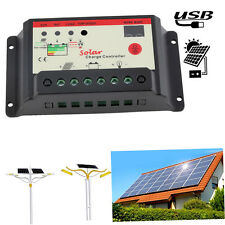 Solar Regulator 30A Solar Charge Controller PWM For Solar Panel Battery AT