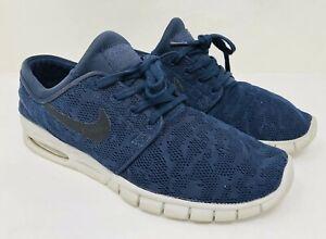 825ae6cd Nike Men's Stefan Janoski Max SB' Skate Shoe Size 10.5 Blue, MSRP ...