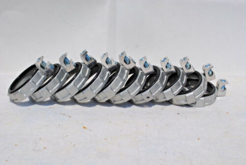 """Malleable Iron Threaded 3/"""" Insulated Grounding Bushing Box of 10 Pieces"""