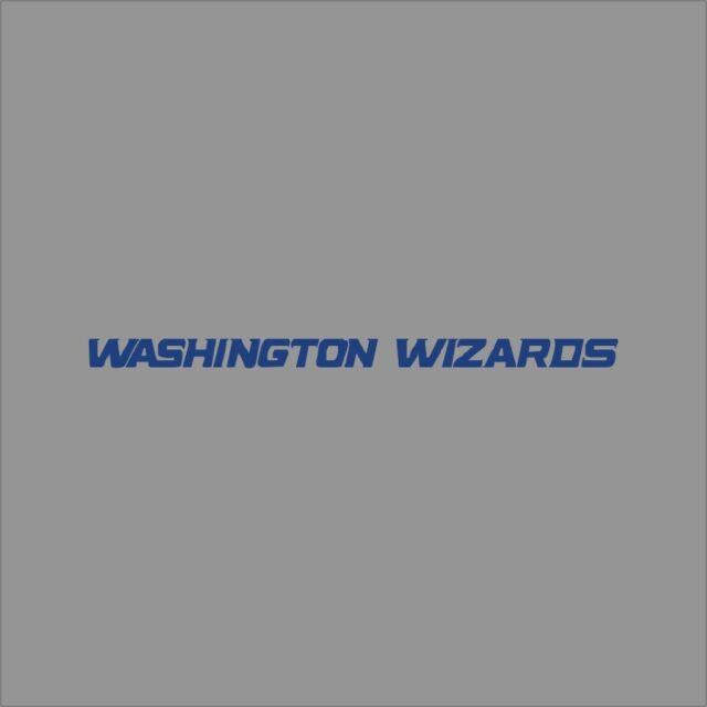 Washington Wizards #7 NBA Team Logo 1Color Vinyl Decal Sticker Car Window Wall