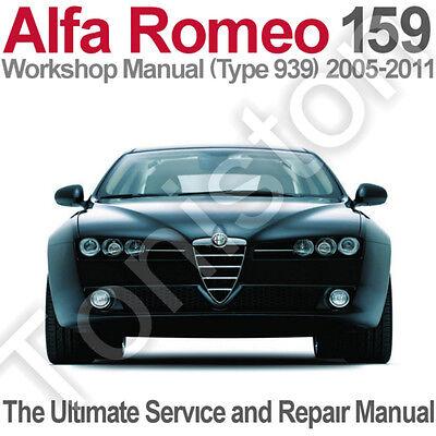 [DIAGRAM_34OR]  Alfa Romeo 159 (Type 939) 2005 to 2011 Workshop, Service and Repair Manual  on CD | eBay | Alfa 159 Workshop Manual Download |  | eBay