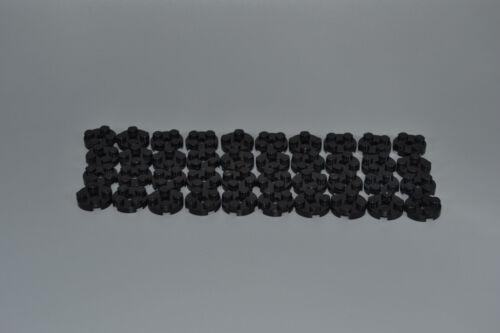 LEGO 40 x Platte 2x2 rund schwarz black circle plate 4032 403226