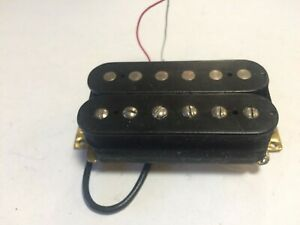 Medium Output Bridge Guitar Humbucker Pickup - 3-Lead Wire for Coil Tapping