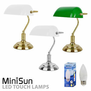 Traditional vintage bankers touch dimmer table desk lamp antique traditional vintage bankers touch dimmer table desk lamp mozeypictures Image collections
