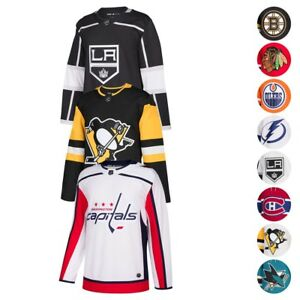 0caee584b9f 2017-18 NHL Adidas Authentic On-Ice Home Away Climalite Jersey ...