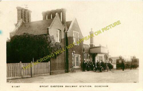 7 Yaxham to North Elmham to Wendling Lines. Dereham Railway Station Photo