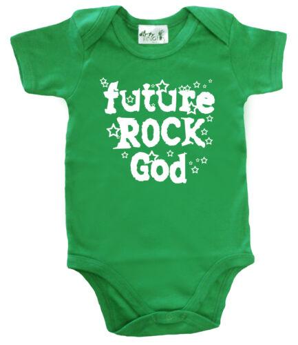 "Baby Rock Body /""futuro Rock Dio/"" BABY GROW Gilet Musica Rock Heavy Metal Stars"