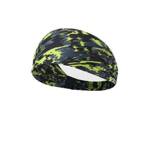 Women//Men Yoga Sports Wide Headband Elastic Boho Hair Band Head Wrap Wristband