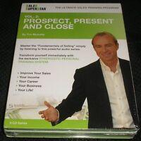 Sales Superstar Tim Mulcahy Vol 2 Prospect Present & Close Success 6 Cd Set
