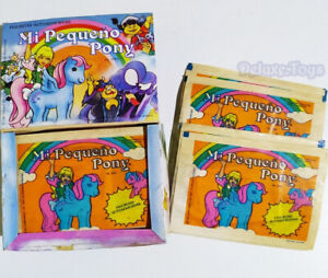 ⭐ MY LITTLE PONY VINTAGE G1 TRADING CARDS 50 UNOPENED PACKS IN BOX 1987 MLP ⭐