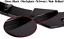 CUP Diffusor Seiten Ansatz SCHWARZ für KIA ProCeed Cee/'d GT MK3 Heckschürze Flap