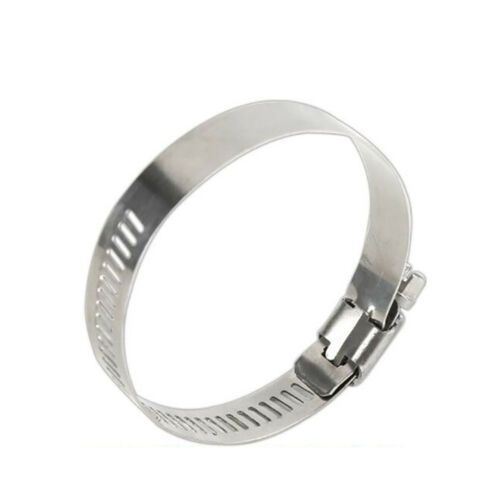201 Stainless Steel Hose Clamps Air Fuel Gas Water Pipe Cable Wire Clip Fastener