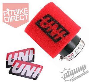 UNI-air-filter-pit-mini-dirt-bike-2-034-stomp-wpb-race-Genuine-USA-import