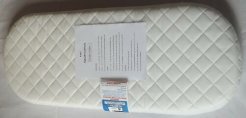 NEW DELUXE SAFETY MATTRESS FOR ICANDY CHERRY CARRYCOT //QUILTED MATTRESS