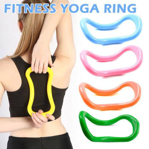 Workout Fascia Pilates Stretching Massage Fitness Training Circles Yoga Ring N