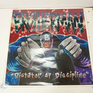 BROTHERMAN-DICTATOR-OF-DISCIPLINE-by-David-J-A-Sims-1992-23-034-x-23-034-Poster-Coated