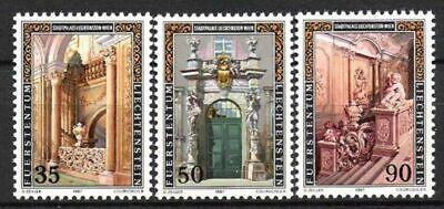 Postfrisch LiebenswüRdig Liechtenstein Nr.925/27 ** Stadtpalais 1987 Architektur
