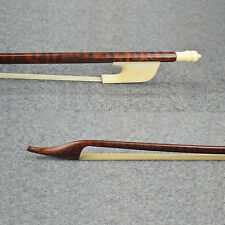 Elegant Snakewood Baroque Violin Bow SWEET and CLEAR Tone For Pro.Player