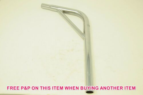 """OLD SCHOOL OR MODERN BMX 1"""" 25.4mm CRO-MOLY BRACED LAYBACK SEAT POST NEW"""